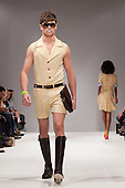 LONDON, ENGLAND - London Fashion Week, S/S 2011 collection by designer Elliott J. Frieze