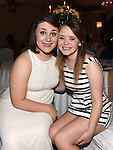 Niamh Mitchell and Shannon Wilson pictured at Sandra Finegan's 50th birthday in the Westcourt hotel. Photo: Colin Bell/pressphotos.ie