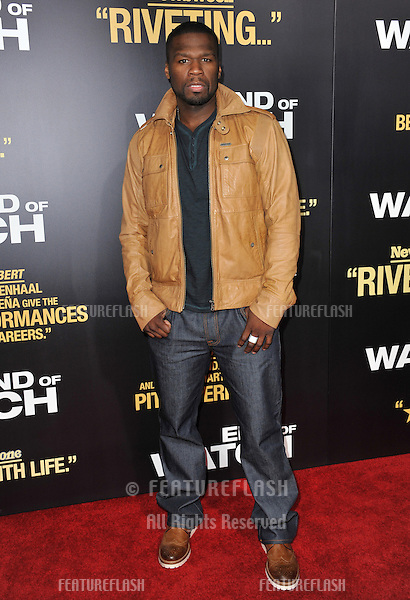 """Curtis """"50 Cent"""" Jackson at the premiere of """"End of Watch"""" at the Regal Cinemas LA Live..September 17, 2012  Los Angeles, CA.Picture: Paul Smith / Featureflash"""