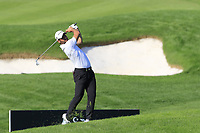 Adrian Otaegui (ESP) plays his 2nd shot on the 17th hole during Sunday's Final Round of the 2018 Turkish Airlines Open hosted by Regnum Carya Golf &amp; Spa Resort, Antalya, Turkey. 4th November 2018.<br /> Picture: Eoin Clarke | Golffile<br /> <br /> <br /> All photos usage must carry mandatory copyright credit (&copy; Golffile | Eoin Clarke)