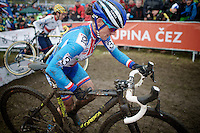 Katerina Nash (CZE/Luna)<br /> <br /> Elite Women's Race<br /> <br /> 2015 UCI World Championships Cyclocross <br /> Tabor, Czech Republic