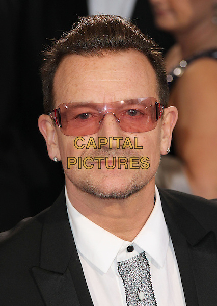02 March 2014 - Hollywood, California - Bono, U2. 86th Annual Academy Awards held at the Dolby Theatre at Hollywood &amp; Highland Center. <br /> CAP/ADM/RE<br /> &copy;Russ Elliot/AdMedia/Capital Pictures