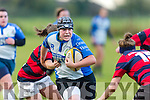 Tralee's Shauna Lynch in Action at the Women's Rugby Division 1 Tralee v Bantry at O'Dowd Park on Saturday