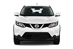 Car photography straight front view of a 2017 Nissan Rogue Sport S 5 Door SUV