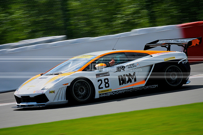 Simon Atkinson/Fiona James - Panic Racing Lamborghini Gallardo GT3
