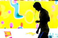 HAMILTON, CANADÁ, 23.07.2015 - PAN-FUTEBOL - Lucas Piazon do Brasil durante partida contra o Uruguai  jogo válido pelas semi-finais do futebol masculino dos Jogos Pan-americanos no Tim Hortons Field em Hamilton no Canadá nesta quinta-feira, 23. (Foto: William Volcov/Brazil Photo Press)
