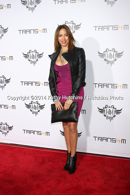 LOS ANGELES - JAN 23:  Jessica Rizo at the Annual Trans4m Benefit Concert at Avalon on January 23, 2014 in Los Angeles, CA
