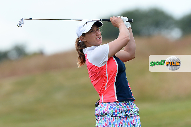 Stacy Lee Bregman of South Africa during the Final Round of The ISPS Handa Ladies European Masters at The Buckinghamshire Golf Club, Denham, England. Picture: Golffile | Richard Martin-Roberts<br /> All photo usage must carry mandatory copyright credit (&copy; Golffile | Richard Martin- Roberts)