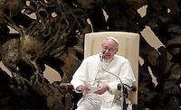 20130316 VATICANO: PAPA FRANCESCO RICEVE IN UDIENZA I GIORNALISTI ED OPERATORI MEDIA ACCREDITATI