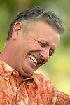 Laughing hispanic man
