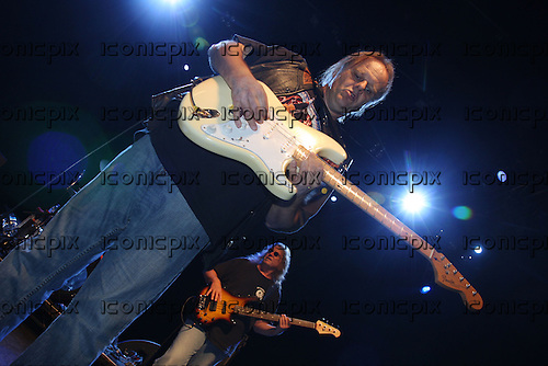 Walter Trout - performing live at the Shepherds Bush Empire in London UK - 30 Oct 2009.  Photo credit: Zaine Lewis/IconicPix