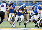 BROOKINGS, SD - NOVEMBER 16: Pierre Strong Jr. #20 of the South Dakota State Jackrabbits finds an opening against the Northern Iowa Panthers during their game Saturday afternoon at Dana J. Dykhouse Stadium in Brookings, SD. (Photo by Dave Eggen/Inertia)