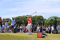 Paul Casey (ENG) tees off the 9th tee during Saturday's Round 3 of the 118th U.S. Open Championship 2018, held at Shinnecock Hills Club, Southampton, New Jersey, USA. 16th June 2018.<br /> Picture: Eoin Clarke | Golffile<br /> <br /> <br /> All photos usage must carry mandatory copyright credit (&copy; Golffile | Eoin Clarke)