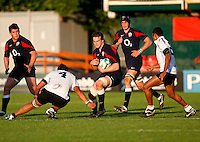Photo: Richard Lane/Richard Lane Photography.England U20 v Fiji U20. IRB U20 World Championships. 05/06/2008. England's Jon Fisher attacks.