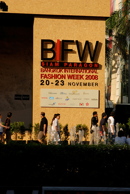 BIFW Bangkok International Fashion Week held at the Siam Paragon Shopping Center, Bangkok Thailand November 2008