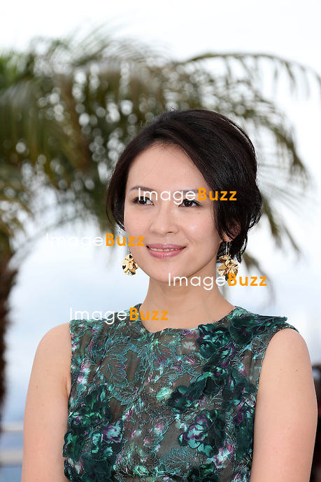 CPE/Jury member actress Zhang Ziyi attends the Jury 'Un Certain Regard' Photocall during the 66th Annual Cannes Film Festival at the Palais des Festivals on May 16, 2013 in Cannes, France.