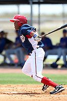 GCL Nationals Narciso Mesa #11 during a game against the GCL Mets at the Washington Nationals Minor League Complex on June 20, 2011 in Melbourne, Florida.  The Nationals defeated the Mets 5-3.  (Mike Janes/Four Seam Images)