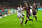 06.10.2019, Commerzbankarena, Frankfurt, GER, 1. FBL, Eintracht Frankfurt vs. SV Werder Bremen, <br /> <br /> DFL REGULATIONS PROHIBIT ANY USE OF PHOTOGRAPHS AS IMAGE SEQUENCES AND/OR QUASI-VIDEO.<br /> <br /> im Bild: Benjamin Goller (SV Werder Bremen #39) gegen Martin Hinteregger (Eintracht Frankfurt #13)<br /> <br /> Foto © nordphoto / Fabisch