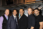 "Cast: L to R - Gary Cowling - xx - Sebastian - xx - Facundo Rodriguez at a private screening of Sebastian La Cause's (C) web series ""Hustling"" Season Two - 'cause everybody got a hustle -  was held on November 19, 2012 at TriBeca's Cinemas, New York City, New York. Days of our Lives ""Silvio"", One Live To Live and All My Children's Sebastian is the creator of Hustling along with being the writer, director and star (Photo by Sue Coflin/Max Photos)"