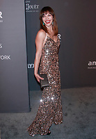 NEW YORK, NY - FEBRUARY 6: Milla Jovovich arriving at the 21st annual amfAR Gala New York benefit for AIDS research during New York Fashion Week at Cipriani Wall Street in New York City on February 6, 2019. <br /> CAP/MPI99<br /> &copy;MPI99/Capital Pictures