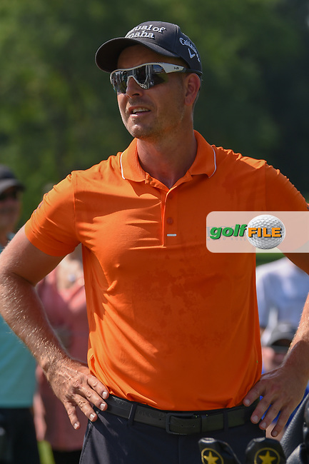 Henrik Stenson (SWE) stands near the first tee during 3rd round of the World Golf Championships - Bridgestone Invitational, at the Firestone Country Club, Akron, Ohio. 8/4/2018.<br /> Picture: Golffile   Ken Murray<br /> <br /> <br /> All photo usage must carry mandatory copyright credit (© Golffile   Ken Murray)