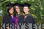 Christina Cronin, Martina Molyneaux and Sheera Dalton O'Neill Tralee, who graduated  with a Bachelor of Science (Honours) in Computing and Multimedia at the Autumn graduations which took place at the Brandon hotel on Friday.