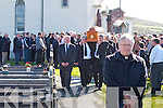 The removal of the late Mary Carmel O'Dwyer from St Finians Church, Waterville to her final resting place in the adjoining cemetery.