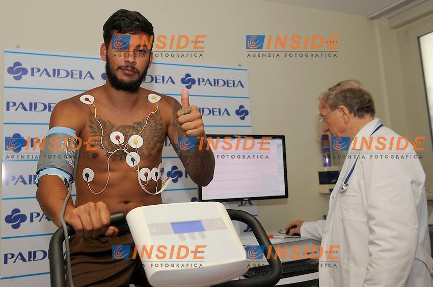 Ricardo Kishna<br /> Roma 07-07-2016 Clinica Paideia<br /> Visite mediche giocatori Lazio in Paideia <br /> SS Lazio players Medical check up <br /> Foto Marco Rosi/fotonotizia/Insidefoto
