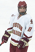 Brett Motherwell - The Boston College Eagles defeated Northeastern University Huskies 5-3 on Saturday, November 19, 2005, at Kelley Rink in Conte Forum at Chestnut Hill, MA.