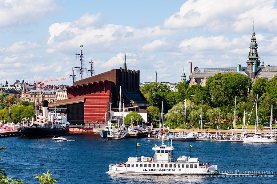 Sweden, Stockholm. The Vasa Museum.