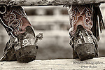 Cowboy Boots with custom spurs. Cowboy Photos, riding,roping,horseback