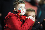 A young Bournemouth fan<br /> - Barclays Premier League - Bournemouth vs Manchester United - Vitality Stadium - Bournemouth - England - 12th December 2015 - Pic Robin Parker/Sportimage