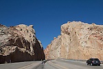 Utah, geologic formations, US highway, I-70, San Rafael Swell, March, USA,