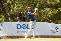 Dustin Johnson (USA) on the 10th during the 5th round at the WGC Dell Technologies Matchplay championship, Austin Country Club, Austin, Texas, USA. 25/03/2017.<br /> Picture: Golffile | Fran Caffrey<br /> <br /> <br /> All photo usage must carry mandatory copyright credit (&copy; Golffile | Fran Caffrey)
