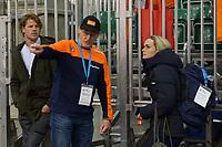 SPEEDSKATING: 16-02-2020, Utah Olympic Oval, ISU World Single Distances Speed Skating Championship, Jillert Anema (coach Team easyJet), Irene Schouten (NED), ©photo Martin de Jong