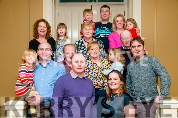 30th Birthday : Declan Quill, Templeglantine celebrating his 30th birthday with family at the Listowel Arms Hotel on Saturday night last.