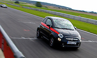 Fiat 500 at Snetterton
