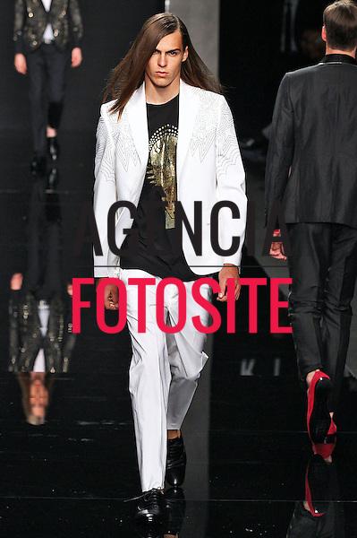 Milao, Italia &ndash; 24/06/2013 - Desfile de John Richmond durante a Semana de moda masculina de Milao  -  Verao 2014. <br /> Foto: Zeppelin/FOTOSITE