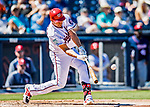 2 March 2019: Washington Nationals first baseman Ryan Zimmerman in action during his first a Spring Training game of the 2019 season starting against the Minnesota Twins at the Ballpark of the Palm Beaches in West Palm Beach, Florida. The Nationals defeated the Twins 10-6 in Grapefruit League play. Mandatory Credit: Ed Wolfstein Photo *** RAW (NEF) Image File Available ***
