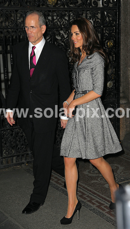 **ALL ROUND PICTURES FROM SOLARPIX.COM**                                             **WORLDWIDE SYNDICATION RIGHTS**                                                                                  Caption:  Kate Middleton The Duchess of Cambridge vistits the Lucian Freud Exhibition at The National Portrait Gallery in London tonight... This pic: Kate Middleton-Windsor                                                                                            JOB REF: 14457       MSR       DATE:08.02.2012                                                            **MUST CREDIT SOLARPIX.COM OR DOUBLE FEE WILL BE CHARGED**                                                                      **MUST AGREE FEE BEFORE ONLINE USAGE**                               **CALL US ON: +34 952 811 768 or LOW RATE FROM UK 0844 617 7637**