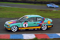 British Touring Car Championship at Knockhill. #4 Steve Soper (GBR). M Team Shell Racing with Listerine. BMW 318is Coupe.