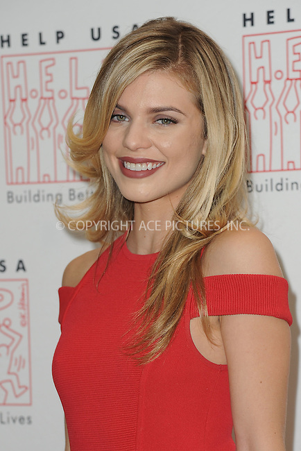 WWW.ACEPIXS.COM<br /> March 16, 2016 New York City<br /> <br /> Annalynne McCord arriving to join HELP USA in celebrating survivors of domestic violence and homelessness at 2016 Scholarship Awards Luncheon on Wednesday, March 16, at The Plaza Hotel in New York City.<br /> <br /> Credit: Kristin Callahan/ACE Pictures<br /> Tel: (646) 769 0430<br /> e-mail: info@acepixs.com<br /> web: http://www.acepixs.com