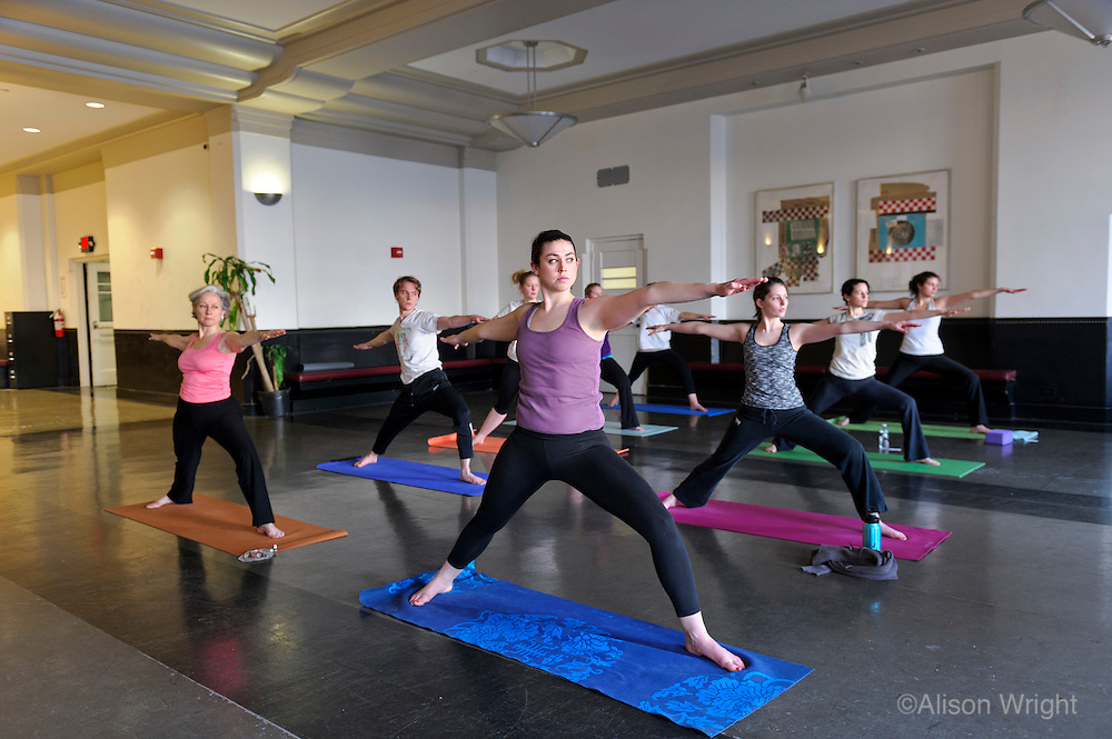 Columbia University Medical Center. Physicians and Surgeosn. Yoga class in Wellness program for all students.