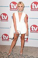 Gabby Allen<br /> arriving for the TV Choice Awards 2017 at The Dorchester Hotel, London. <br /> <br /> <br /> ©Ash Knotek  D3303  04/09/2017
