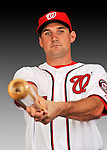 25 February 2011: Washington Nationals' third baseman Ryan Zimmerman poses for his Photo Day portrait at Space Coast Stadium in Viera, Florida. Mandatory Credit: Ed Wolfstein Photo