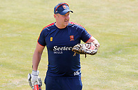 Anthony McGrath of Essex leads fielding drills during Essex CCC vs Kent CCC, Bob Willis Trophy Cricket at The Cloudfm County Ground on 3rd August 2020