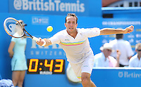 Radek Stepanek (CZE) during his match versus Kevin Anderson (RSA) - Aegon Tennis Championships, Quarter Final at Queens Club, London - 13/06/14 - MANDATORY CREDIT: Rob Newell - Self billing applies where appropriate - 07808 022 631 - robnew1168@aol.com - NO UNPAID USE - BACS details for payment: Rob Newell A/C 11891604 Sort Code 16-60-51