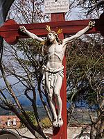 Friedhof in Algund-Lagundo, Provinz Bozen &ndash; S&uuml;dtirol, Italien<br /> cemetery, Algund-Lagundo, province Bozen-South Tyrol, Italy
