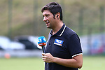 29th of July 2018, Roncone, Italy; Pre Season football friendly Primavera, Hellas Verona versus FC Ingolstadt 04; Sport Italia SI journalist, Credit: Pierre Teyssot / Nicer