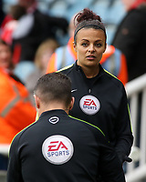 Assistant Referee Lisa Rashid during the pre-match warm-up <br /> <br /> Photographer David Shipman/CameraSport<br /> <br /> The EFL Sky Bet League One - Peterborough United v Fleetwood Town - Friday 14th April 2016 - ABAX Stadium  - Peterborough<br /> <br /> World Copyright &copy; 2017 CameraSport. All rights reserved. 43 Linden Ave. Countesthorpe. Leicester. England. LE8 5PG - Tel: +44 (0) 116 277 4147 - admin@camerasport.com - www.camerasport.com